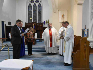 New Rector installed in style