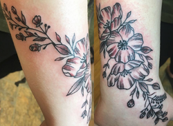 Forearm Flower Wrap