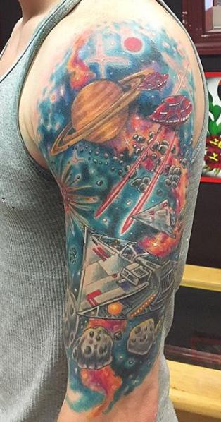 Steve in Space