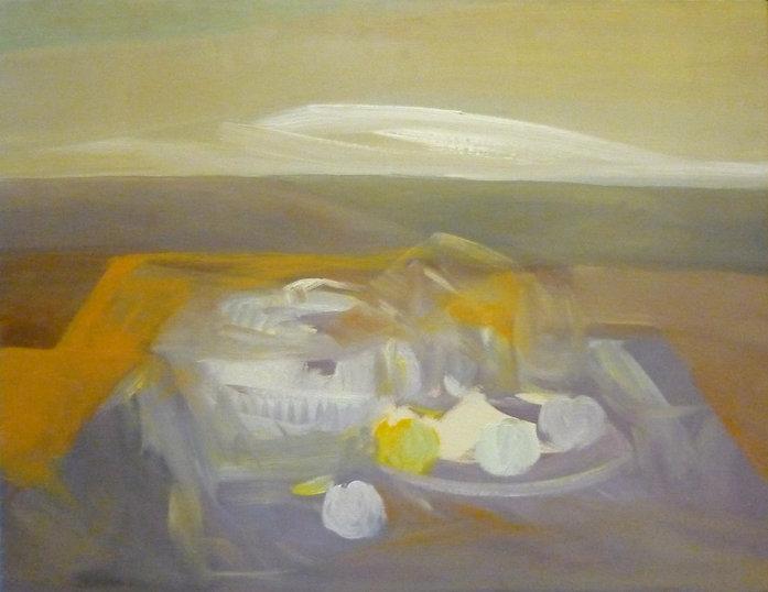 Ruizanglada - Bodegón en el paisaje 65x80