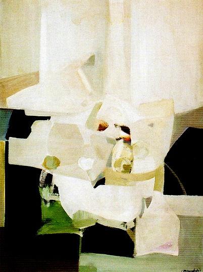 Ruizanglada - Interior con bodegón 130x97 1984