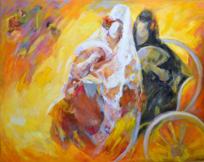 Ruizanglada - Las manolas de la carreta 166x135