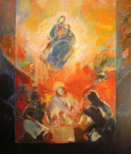 Ruizanglada - Jesús y María, Madre Mediadora de los hombres 180x150.