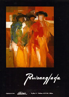 Ruizanglada Catálogo - 1982 Galeria Caledonia Bilbao, España