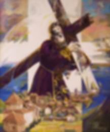Ruizanglada - Jesús sobre Milmarcos. Ermita de Jesús en Milmarcos, Guadalajara, Spain.