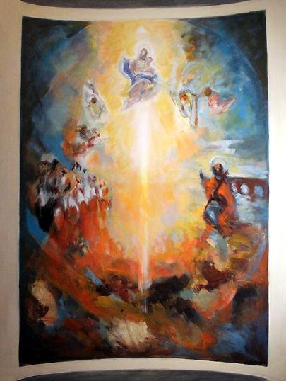 Ruizanglada - Boceto Bóveda del Pilar 180x150 1995