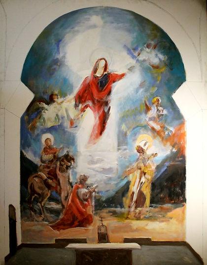 Ruizanglada - Virgen y Apostol 195x160