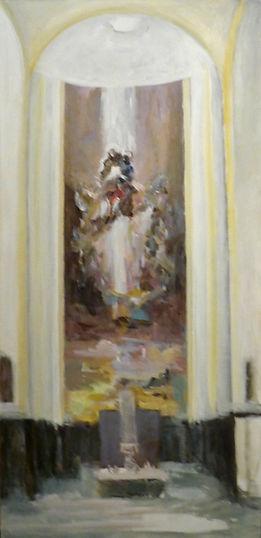 Ruizanglada - Corazón de Maria en Rosas 162x75