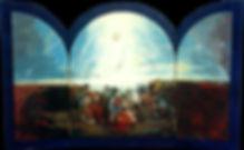 Ruizanglada - Ascensión 70x110 Acrílico sobre tabla 1996