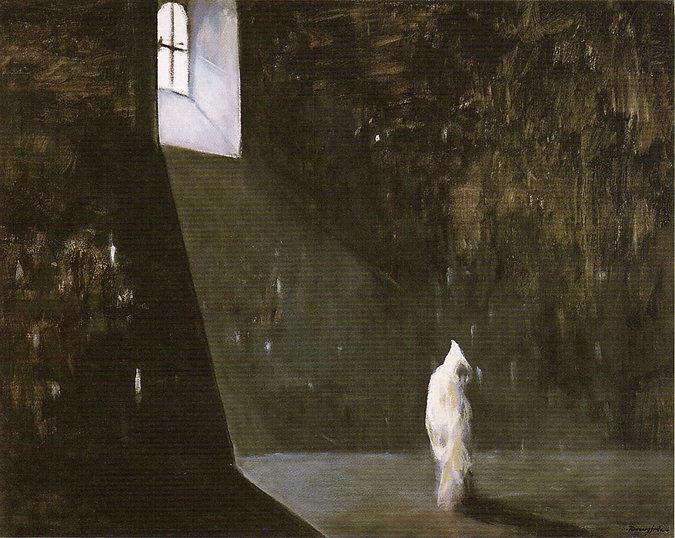 Ruizanglada - Luz en la soledad 130x162 1995 Acrílico sobre lienzo