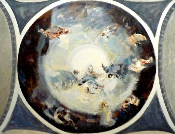 Ruizanglada - Boceto para la Cúpula del Pilar