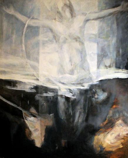 Ruizanglada - Ascensión 162x130cm 1995