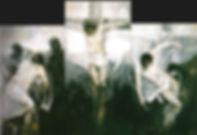 Ruizanglada - Triptico de la Pasión 195x291 Acrílico sobre lienzo