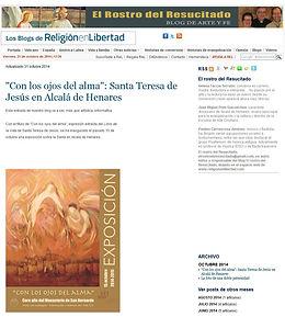 Prensa Anuncio Web 2014 08 22 - Blog Carmelita se hace eco de Ruizanglada.