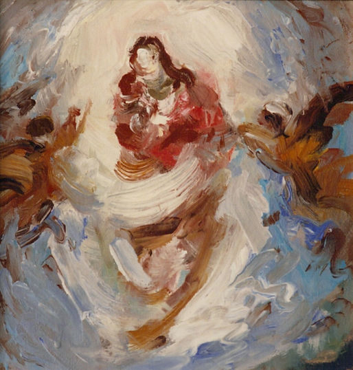 Ruizanglada - Virgen 29x28