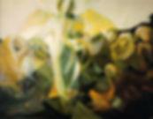 Ruizanglada - Los panes y los peces. Óleo sobre lienzo.