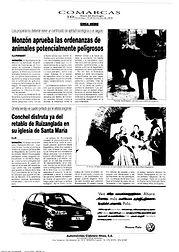 Prensa 2000 12 10 Diario Alto Aragón Hemeroteca 2000 - Conchel disfruta ya del retablo de Ruizanglada en su iglesia de Santa Maria - Entrevista