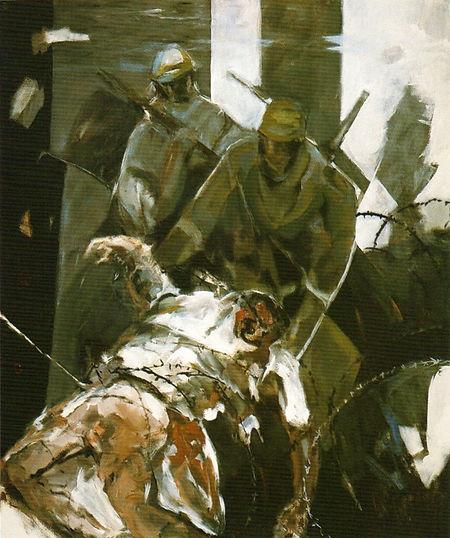 Ruizanglada - Desastres de la guerra 180x150 1995