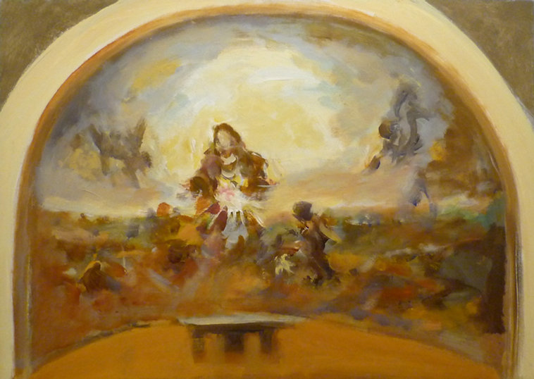 Ruizanglada - Virgen 50x70