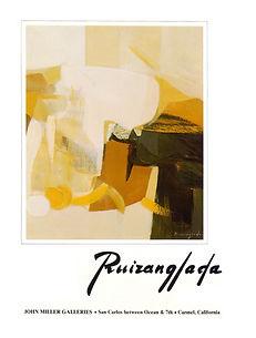 Ruizanglada Catálogo - 1980 John Miller Galleries - Carmel California EEUU