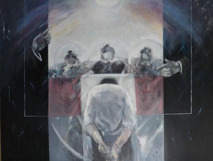 Ruizanglada - Juicio 150x180cm