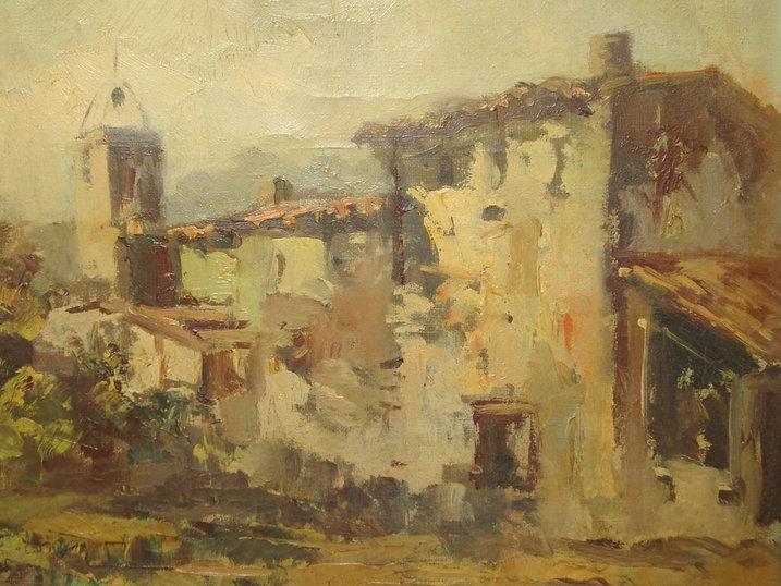 Ruizanglada - El Molino, Farlete, Aragón 1945 - Aficionado - El pintor tenía 16 años.