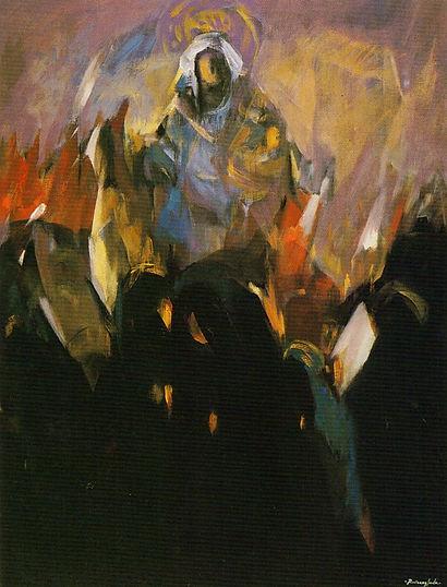 Ruizanglada - Procesión de la Virgen