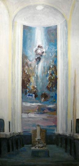 Ruizanglada - Corazón de Maria en Azules 162x75