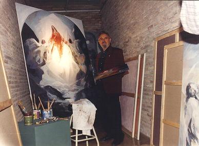 Arte. Pintura de Ruizanglada. Pintura religiosa. Fine art. Pintura taurina. Galería Ruizanglada. Cuadros.