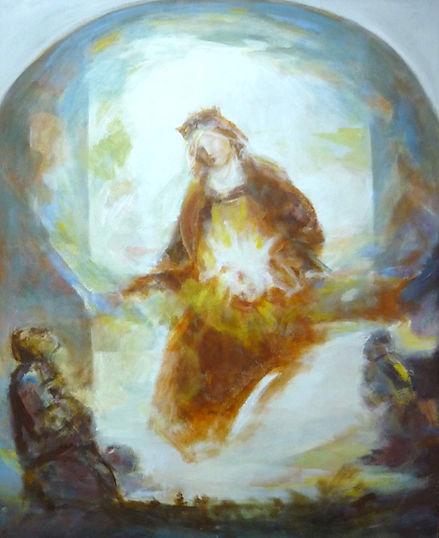Ruizanglada - Virgen Reina 158x130