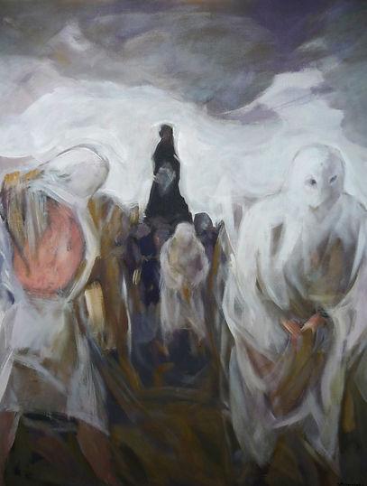 Ruizanglada - Procesión de penitentes 146x115