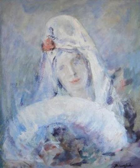 Ruizanglada - Manola en azules claros