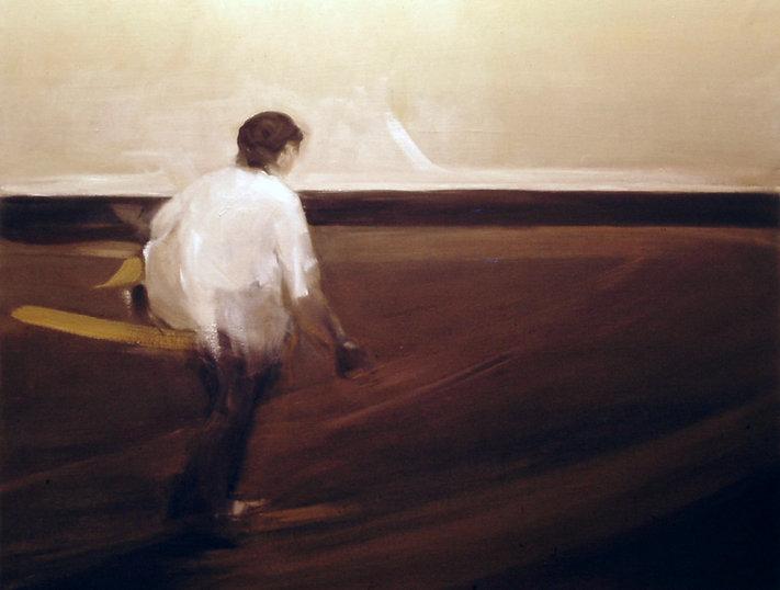 Ruizanglada - Sembrador 162x130 Óleo sobre lienzo 1976-78