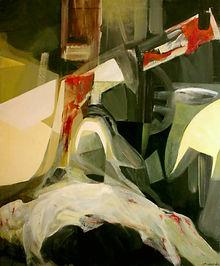 Pintura de Ruizanglada. Pintura religiosa. Galería. Fine art. Obra. Arte.