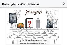 Ruizanglada Conferencias con exhibición de pintura