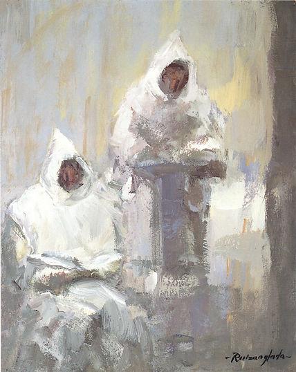 Ruizanglada - Cartujos Lectura de oración 33x41 1999