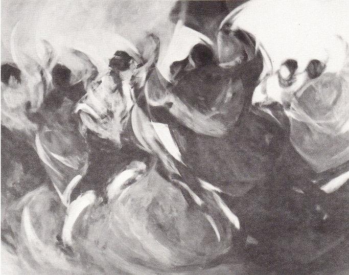 Ruizanglada - El aire de la Jota 250x200 Acrílico sobre lienzo 1984