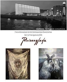 Ruizanglada - Donostiartean 7-11 Agosto 2014