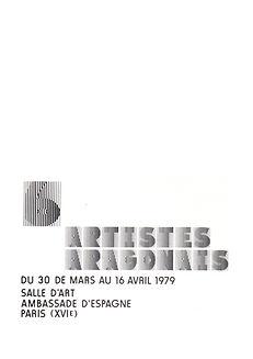 Ruizanglada Catálogo - 1979 Exposicion Colectiva Paris, Francia. Embajada de España