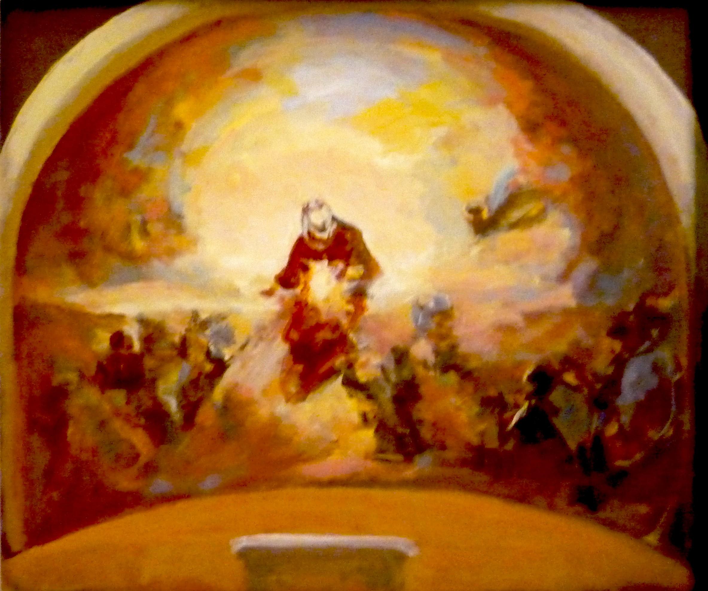 Ruizanglada - Virgen 72x84cm