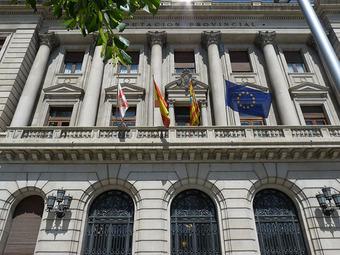 Fachada Diputación Provincial Zarago