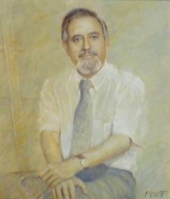 María Eugenia Vall - Retrato del pintor Ruizanglada 1998