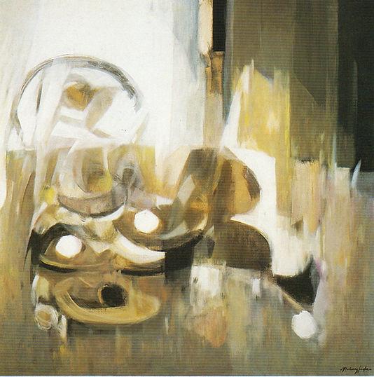 Ruizanglada - Bodegón a contraluz 110x110 1986