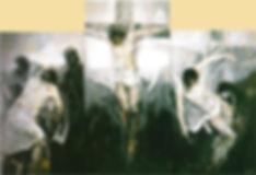 Triptico de La Pasión de Ruizanglada en la Iglesia de San Gil de Zaragoza 2012.