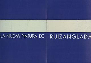 Ruizanglada Catálogo - 1971 Galeria Galdeano Zaragoza, España