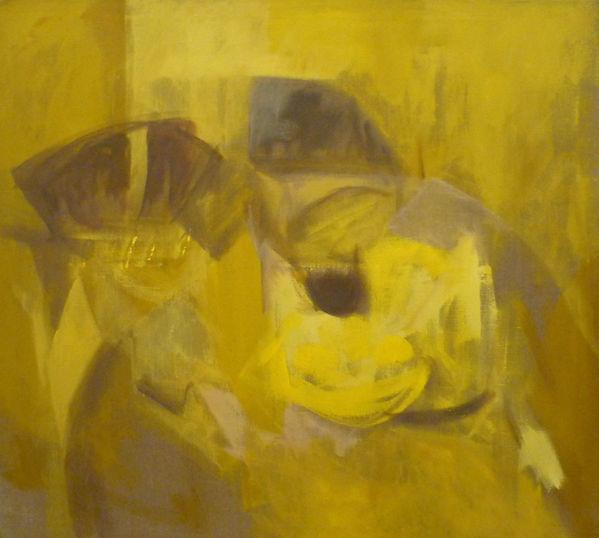 Ruizanglada - Bodegón en Amarillos 110x110
