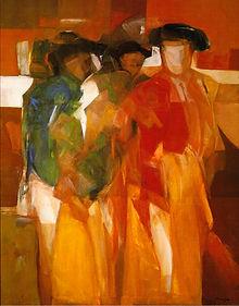 Pintura de Ruizanglada. Pintura taurina. Tauromaquia. Fine art. Galería. Arte. Cuadros.