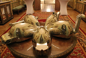 Meta-perceptual helmets displayed in the Irish Embassay Paris