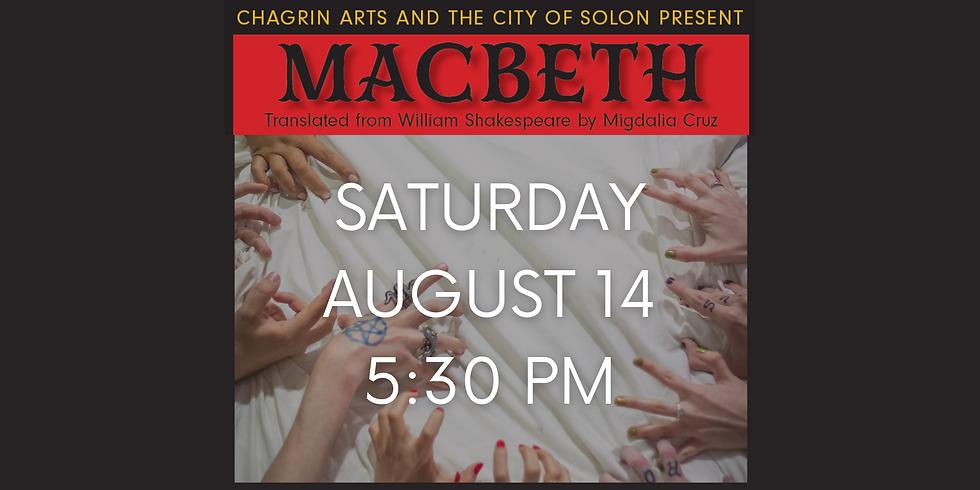 MACBETH Aug. 14