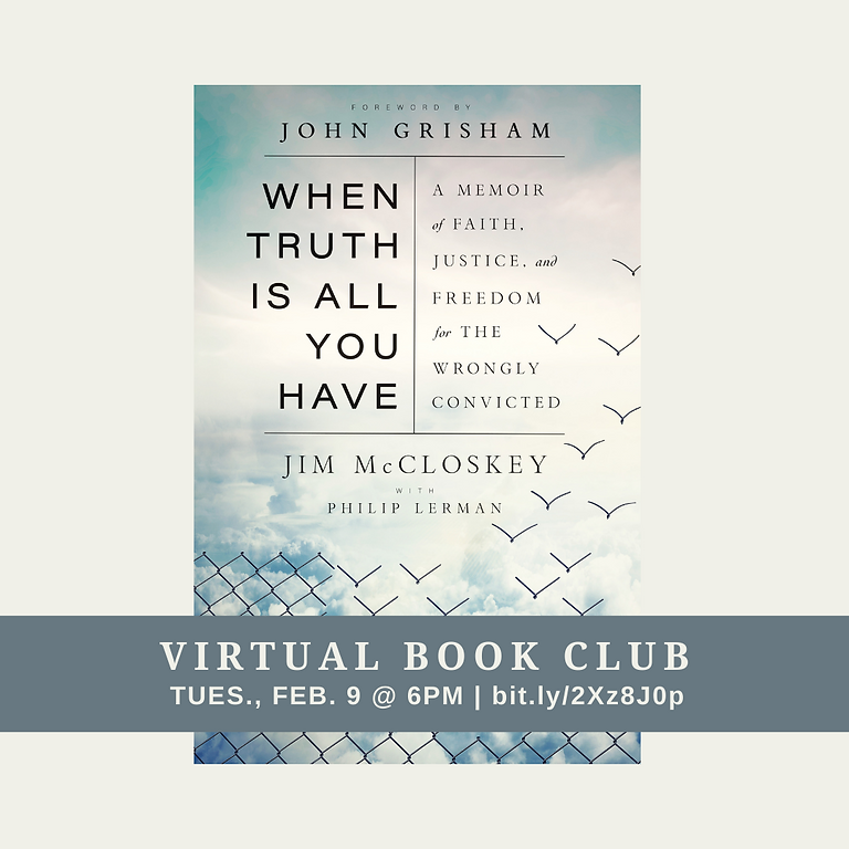 Virtual Book Club: When The Truth Is All You Have